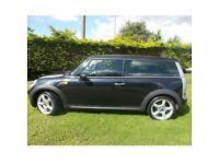 2008 mini clubman 1.6 black