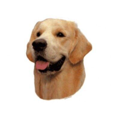 4 Aufkleber Golden Retriever Hunde Hund Tieraufkleber