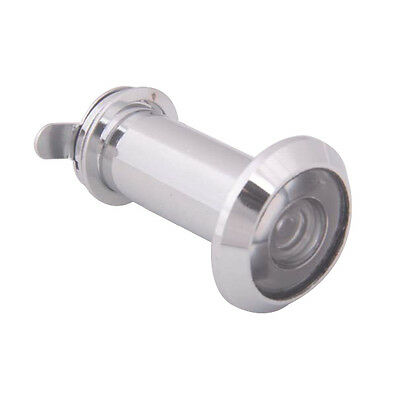 200 Degree 35-60mm Wide Angle Scope Peephole Door Viewer Silver Tone