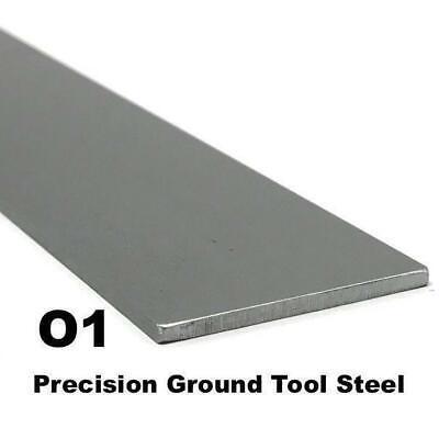 O1 Precision Ground Tool Steel Flat Bar 18 X 1.5 X 12 Knife Making Billet