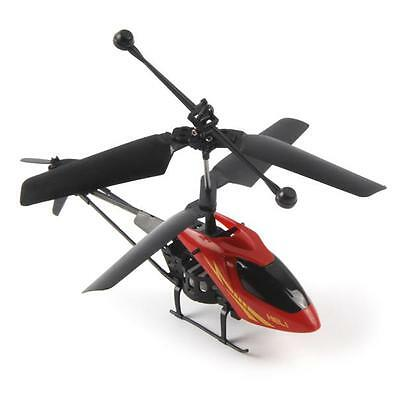2 Channel Mini RC 901 Helicopter Radio Remote Control Micro Aircraft LED Toy RD