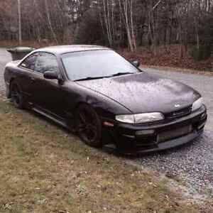 Nissan 240SX S14 Rolling Shell (PLAQUABLE)