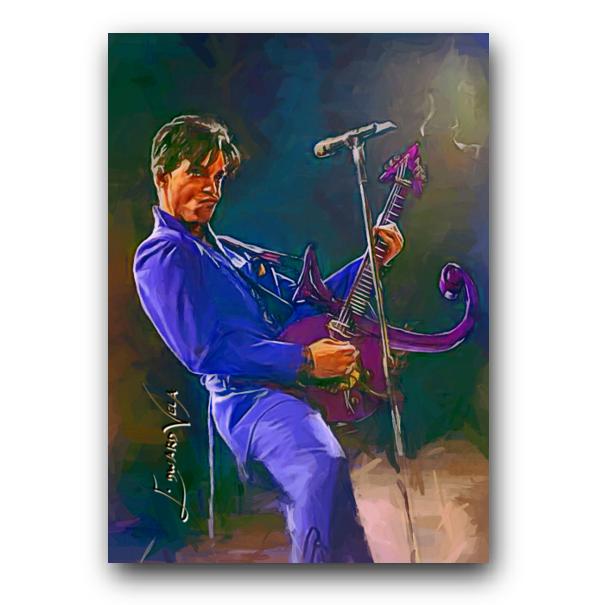 Prince 12 Sketch Card Limited 48/50 Edward Vela Signed - $2.99