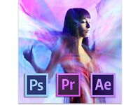 PHOTOSHOP - AFTER EFFECTS - MOTION GRAPHICS/EDITING LESSONS - PRIVATE TUTOR