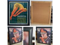 FREE: Large Size Painted Wood Picture Frame With Acrylic Glass