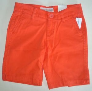 Womens AEROPOSTALE Solid Uniform Twill Bermuda Shorts NWT #2032