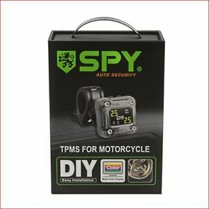 Motorcycle Tire Pressure Monitoring System - TPMS - SPY
