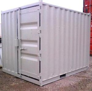 10ft steel storage container