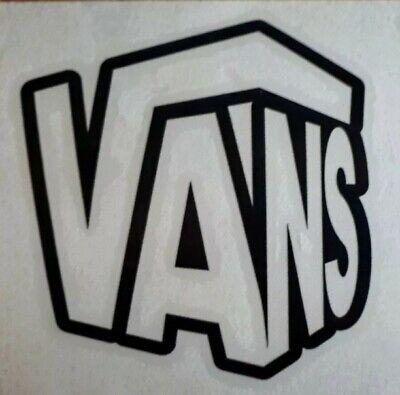 VANS 3D Skateboard surfboard longboard car campervan transporter sticker 100mm