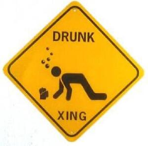 DRUNK-XING-Aluminum-Sign-Won-039-t-rust-or-fade