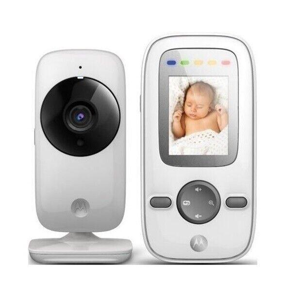 Motorola MBP421 Videophone Babyphon Hohe Reichweite Temperatur Nachtsicht Wand