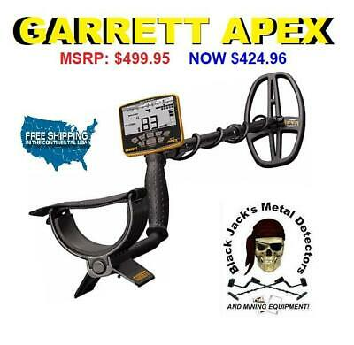 Garrett Ace Apex Without Wireless Headphones Coil Cover Charging Cable.