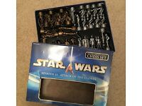Star Wars Chess Set, Pewter & Bronze Effect, Episode II 2 Attack of the Clones