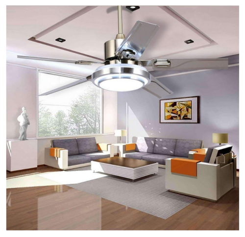 52 control remote stainless steel ceiling fan