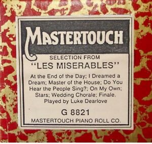 Wanted: Wanted: Les Miserables Pianola Roll