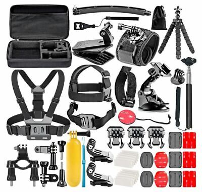 ACCESSORIES Set 50in1 KIT beach kit summer fun Action Sports Camera Mount New