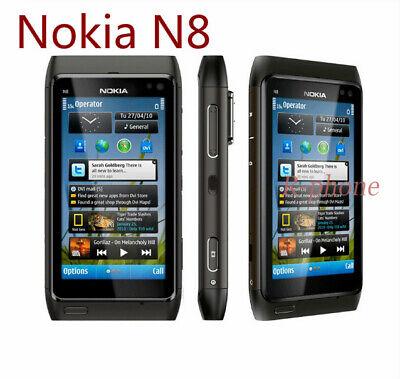 "Original Nokia N8 3G WIFI GPS 12MP Touchscreen 3.5"" Unlocked 16GB Smartphone"