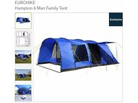 Family Tent - 6 Man, brand new