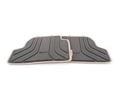 Doppelziernaht Fußmatten für BMW 4er Cabrio F33 F83 ab Bj 03//2014