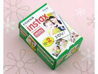 20 Sheets Fujifilm Instax mini film for Fujifilm instax mini 7s, 8, 25 and 90 and Polaroid 300