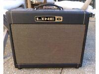 Line 6 DT25 COMBO valve amp