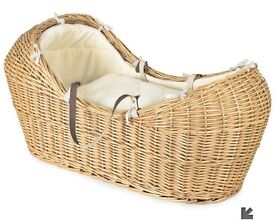 Moses basket and stand with brand new mattress!
