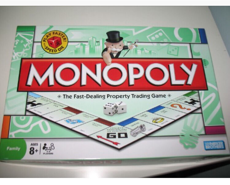 **MONOPOLY BOARD GAME GOOD CONDITION**