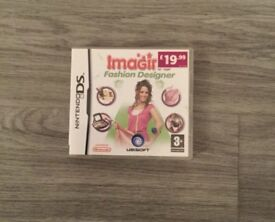 Nintendo DS imagine fashion designer game
