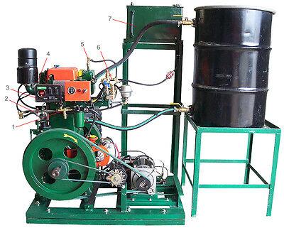 Holzgas-Bauplan Synthesegas aus Holz und Torf BHKW Strom + Wärme erzeugen auf CD
