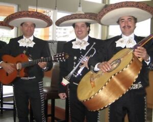 Mariachi band in Vancouver. Also Marilyn Monroe and Elvis!