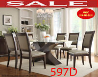 Model 597D-4 S,kitchen  chairs, w-2468-72, didning table