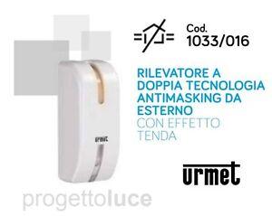 Sensore di movimento infrarossi esterno doppia tecnologia a tenda URMET 1033/016  eBay