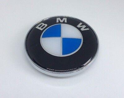 BMW EMBLEM Replacemen HOOD BADGE FRONT LOGO 82MM E46 M3 M4 E36 E92 3 4 5 Series