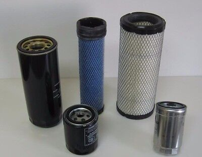 Mahindra Tractor Economy Pack Of 5 Filters -0455.0456.8904.2702.0789