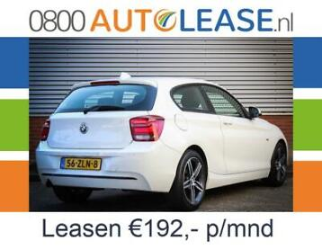 BMW 1 Serie 116i | Financial Lease