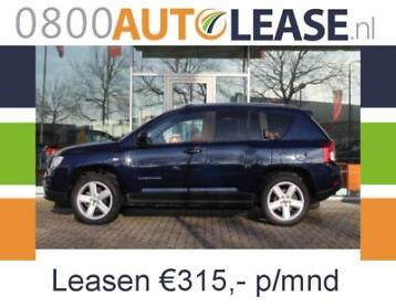 Jeep Compass 2.4 4WD Limited | leasen va 315,- p/mnd