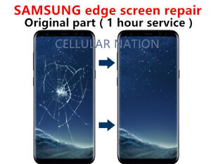 SAMSUNG edge OEM screen repair  Note10 Note9 Note8 S10 S9 S8 S7