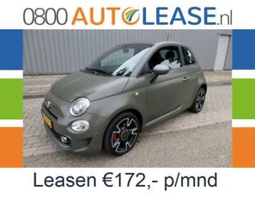 Fiat 500 0.9 TwinAir Turbo 105pk Sport | Financial Lease