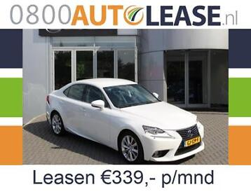 Lexus IS 300H 2.5 Hybrid | Lease € 339,– per mnd