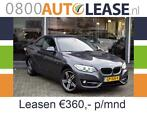 BMW 2-Serie 1.5 218IA 100KW Coupe | Lease € 360,– per mnd