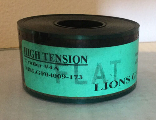 Alexandre Aja's HIGH TENSION (2003) Trailer Flat 35mm Film Never Run