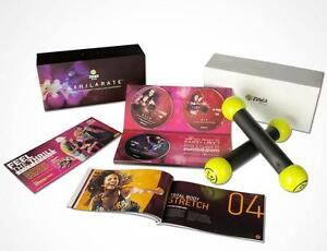 Zumba Total Body Transformation System DVD Set !! FREE SHIPPING
