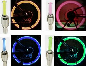LED Bike Wheel Light - Valve Cap