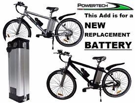 POWERTECH Electric Bike Battery Li-ion 24v