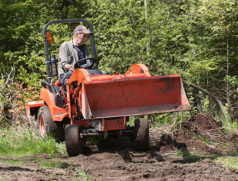 How To Build A Loader For A Wheel Horse Garden Tractor