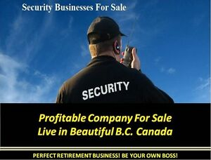 Well Established Security Service for Sale