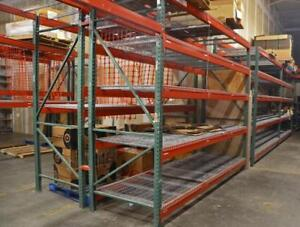Wanted free pallet racking - we can dismantle