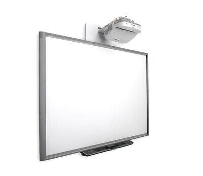 77 Sbx880 Dvit Interactive Smart Board Epson Short Throw Projector Complete