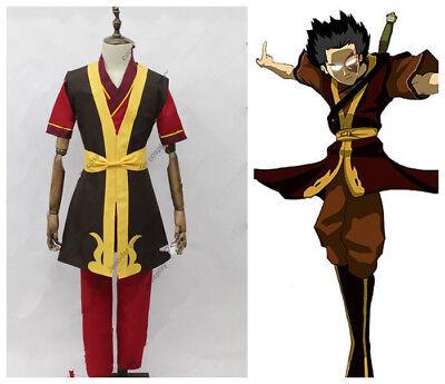 MEW  Legend of Korra Zuko Cosplay Costume FF.1589 (Zuko Costumes)