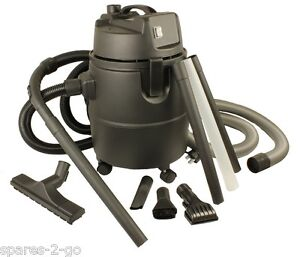 Heavy Duty 1400Watt 30 Litre Pond Vacuum Cleaner  - Full Extension Cleaning Kit